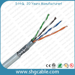 4 Pairs High Quality LAN Network Cable SFTP Cat5e pictures & photos