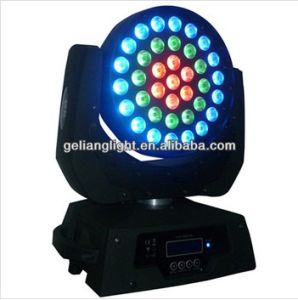 RGB Tricolor 36*9W LED Moving Head Wash Light pictures & photos