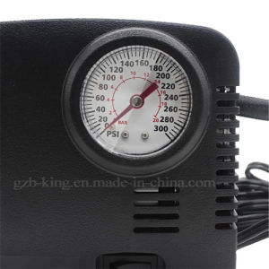 Portable Tire Inflator Mini 300 Psi 12V DC Auto Air Compressor Pump for Cars pictures & photos