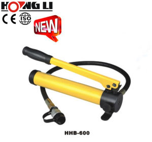 Portable Hydraulic Hand Pumps with Oil Capacity to 7500cc (HHB-700) pictures & photos