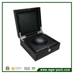 Luxury Matt Lacquering Wooden Watch Winder pictures & photos