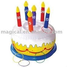 Inflatable Birthday Cake Model for Advertising (MIC-339) pictures & photos