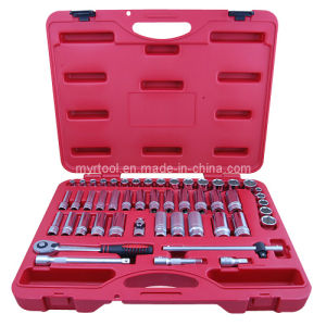 Hot Selling-50PCS Professional Auto Repair Socket Tool Set pictures & photos