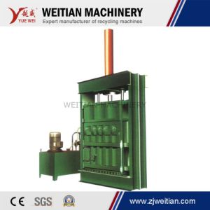Waste Paper, Waste Clothes, Woven Bag Baler Machine Equipment pictures & photos