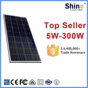 Top 1 China Supplier 156*156mm 36PCS Solar Cells 150W Polycrystalline Solar Panel pictures & photos