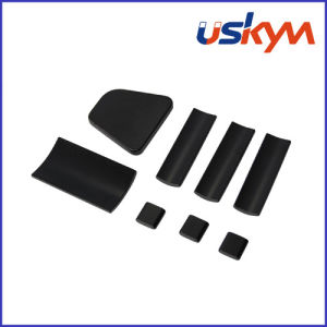 Coating Black-Epoxy NdFeB Arc Magnets Custom Magnets (A-001) pictures & photos