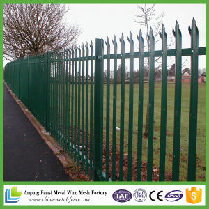 Hot DIP Galvanized W-Section Steel Palisade Fence pictures & photos