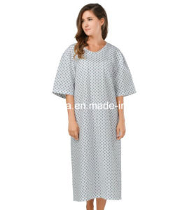 Fashion Patient Gown in Hospital