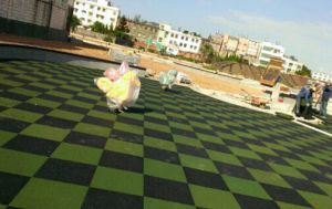 High Quality Household Rubber Tile/Rubber Pavers//Rubber Matting pictures & photos