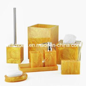 Imitation Marble Bath Sets (WBP0339A) pictures & photos