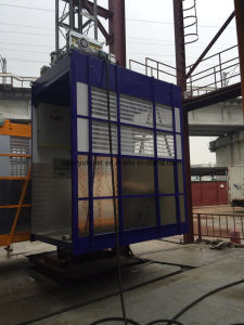 High Quality Stable 2 T Engineering Construction Elevator Machinery pictures & photos