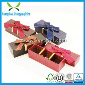 Custom Logo Printed Paper Heart Shape Chocolate Packaging Box with Paper Divider pictures & photos