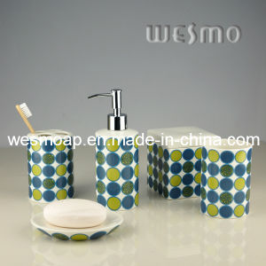 Porcelain Color DOT Bathroom Accessories (WBC0626B) pictures & photos