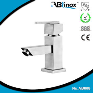 Stainless Steel Basin Faucet Mixer Tap (AB008)
