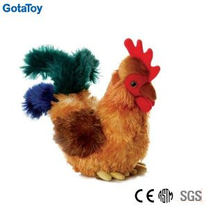 Custom Plush Cock Stuffed Toy Rooster Soft Toy pictures & photos