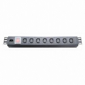 IEC Plug Socket 9-Way PDU pictures & photos