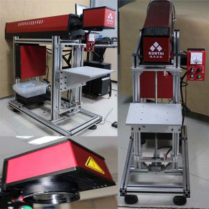 40W CO2 Laser Marking Machine for Leather pictures & photos