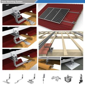 Distributed Hook Roof Solar PV System pictures & photos
