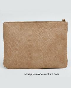 Designer PU Snake Clucth Bag Wrist Ladies Evening Bag pictures & photos