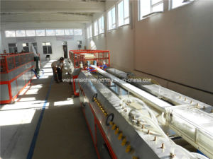 Plant for Color PVC Profile Window Profile Production pictures & photos