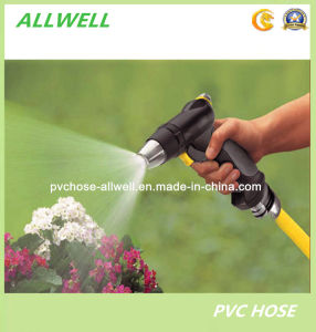 PVC Plastic Braided Reinforced Car Washing Garden Water Hose pictures & photos