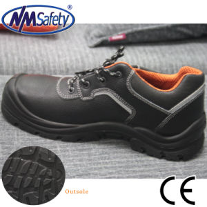 Nmsafety Cowhide Leather Factory Fashion Low Cut Safety Shoes pictures & photos
