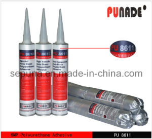 High Strength Polyurethane Auto Glass Windshield Bonding Adhesive PU8611