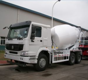 HOWO 6X4 10 M3 Concrete Mixer Truck (ZZ1257N3847) pictures & photos