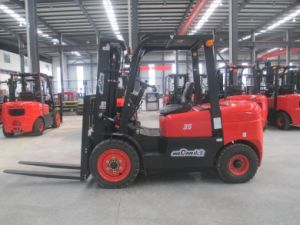 3.5ton China Manual New Diesel Forklift with CE and ISO (CPCD35FR)
