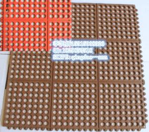 Interlocking Swinming Room Floor Mats, Anti-Abrasive Rubbe Flooring Mat pictures & photos