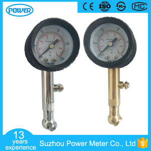 40mm Copper and Chromeplated Best Tire Pressure Gauge Manufacturer pictures & photos