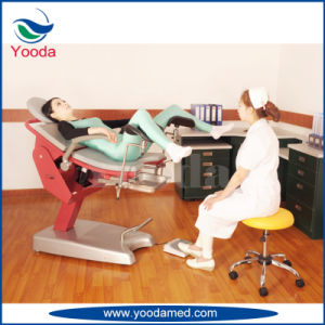 Hospital Electric Gynecology Operation Table pictures & photos