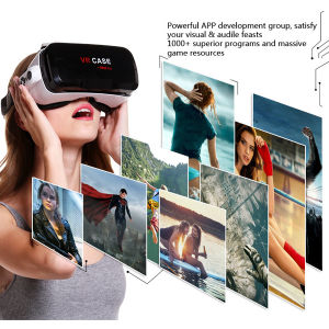 Wireless Bluetooth Gamepad Remote Controller 3D Vr Glasses pictures & photos