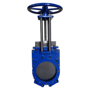 Wafer Type Knife Gate Valve, Rising Stem Pn10 pictures & photos