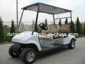 4 Seats China Factory Produced Solar Panel Club Car pictures & photos