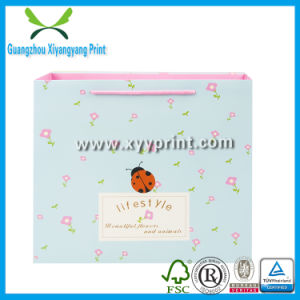 Fashion Design Custom Printed Paper Shopping Bag pictures & photos