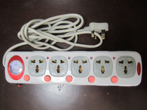 5 Outlets Electric Extension Socket No. 169 pictures & photos