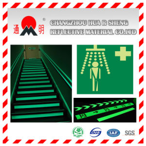 Pet/PVC Photo Luminescent Reflective Film for Exits (FG301) pictures & photos