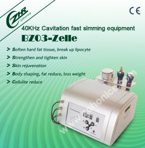 Bz03 Portable 40k Cavitation RF 3 in 1 Celluite Removal pictures & photos