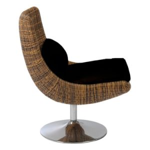 Well Furnir T-029 Swivel Rattan Chair pictures & photos
