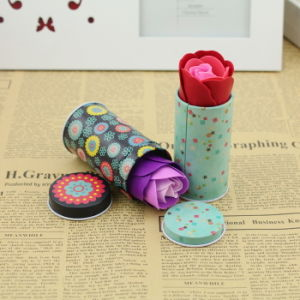 Hot Salw Tin Flower Soap Boxes pictures & photos