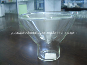 High Borosilicate Double Wall Glass Mug (SDC14416) pictures & photos