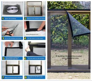 DIY Magnetic Insect Window Screen pictures & photos
