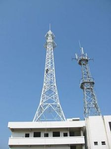 Advanced Galvanized Steel Communication Towers pictures & photos
