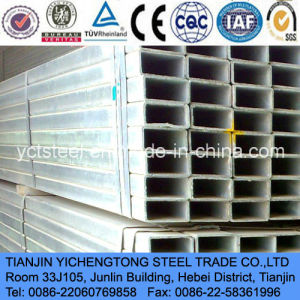 China Galvanized Tube-Galvanized Suqare Tube pictures & photos