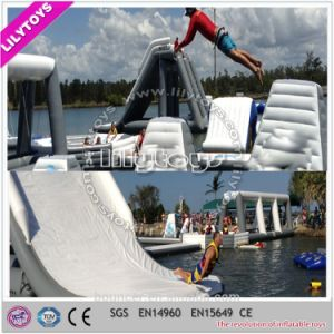 Giant Grey and White Color Inflatable Sea Park Floating Water Toys for Adult (J-water park-126) pictures & photos