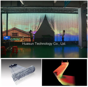 Outdoor/Indoor Transparent LED Curtain Apollo LED Curtain