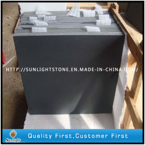 Hainan Black Honed Basalt Tiles (Without Holes) for Floor and Wall pictures & photos