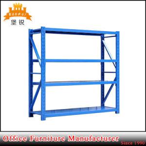 4 Tiers Steel Metal Storage Rack Warehouse Shelving Goods Shelf pictures & photos