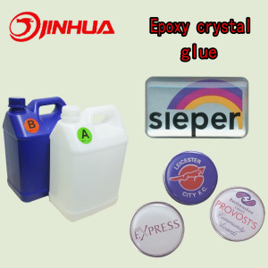Clear Soft Crystal Epoxy Resin for Badge/Stickers pictures & photos